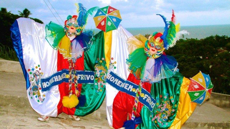 Melhor carnaval do Brasil Olinda Recife frevo