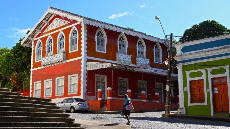 Casa Mauricio de Nassau Olinda Pernambuco Brasil centro histórico colonial