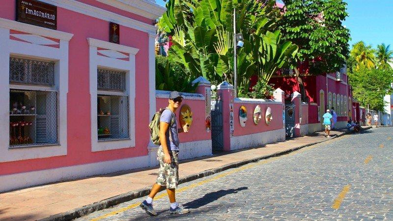 Olinda cidade histórica Pernambuco Brasil