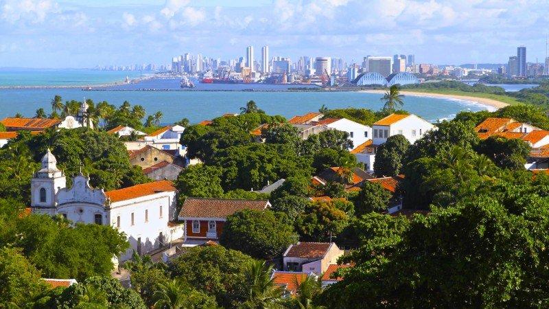 Centro historico Olinda Pernambuco