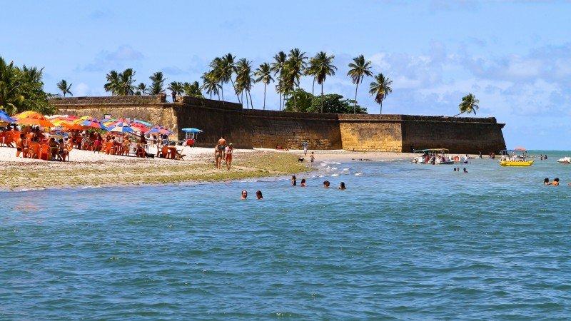 Forte Orange Ilha de Itamaracá praia do forte pernambuco litoral norte turismo