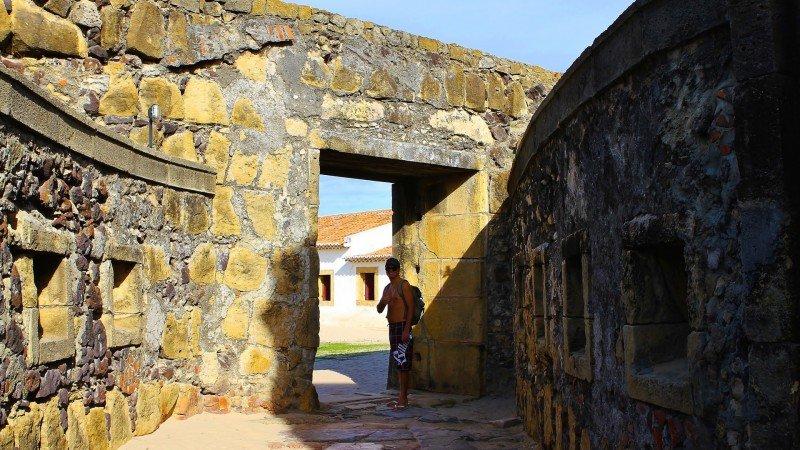 Ilha de Itamaracá Forte Orange litoral norte de Pernambuco