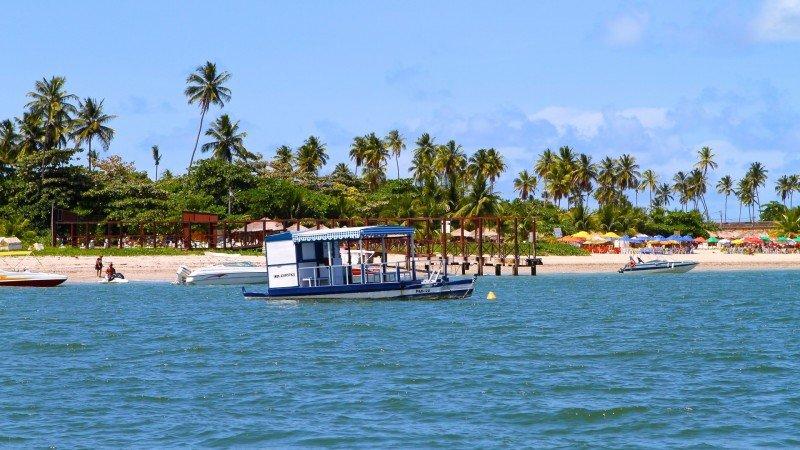 Marina Itamaracá passeio de barco turismo Pernambuco nordeste