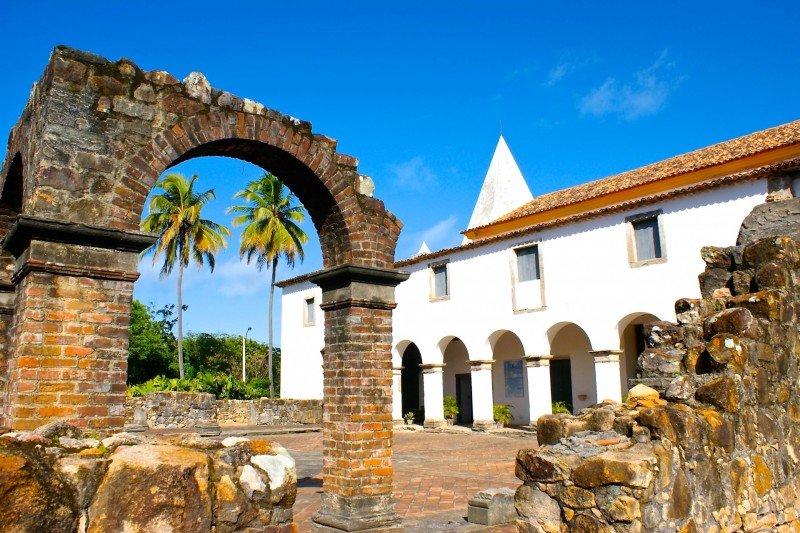 Ruinas Cabo de Santo Agostinho Pernambuco Brasil