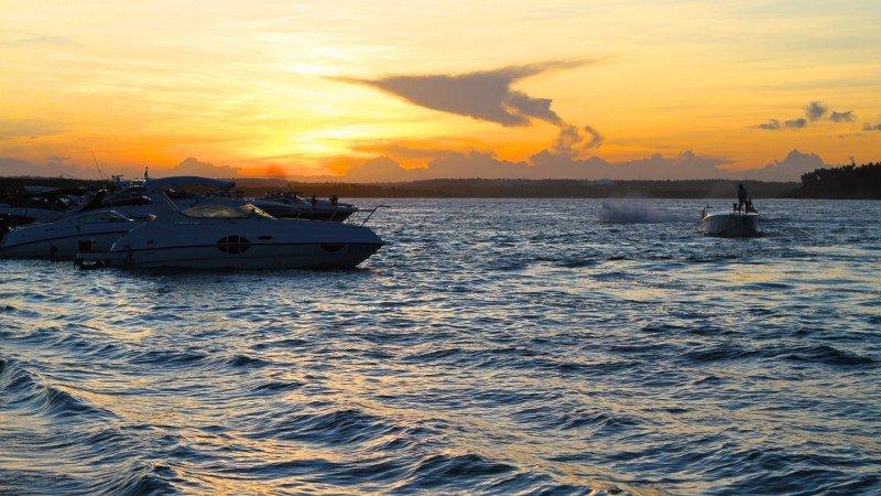 Por do sol mais bonito do Brasil praias nordeste ilha Itamaracá Pernambuco