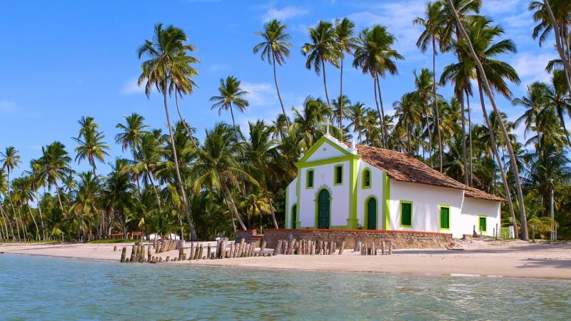 Praia dos Carneiros Pernambuco turismo pontos turísticos passeios férias viagem