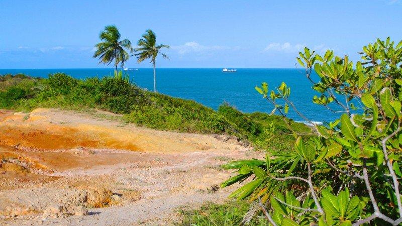 Praia Paraíso Cabo de Santo Agostinho litoral sul de Pernambuco