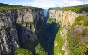O que fazer em Aparados da Serra - Cânion do Itaimbezinho - Cambará do Sul - O que fazer em Cambará do Sul - Pontos turísticos em Cambará do Sul