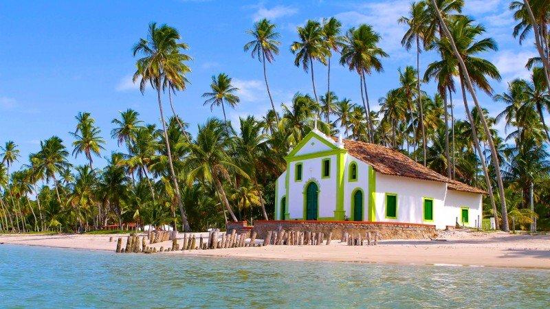 igreja praia dos carneiros capela de são benedito