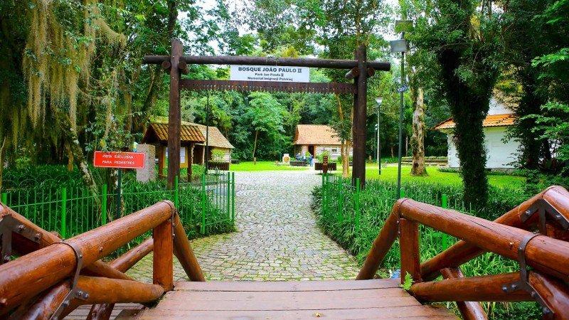 Bosque do Papa Curitiba atrações turísticas