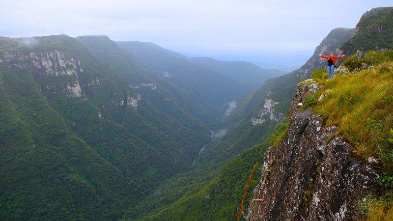 Cânion Fortaleza Cambara do Sul Trilha o que fazer dicas viagem hotel Rio Grande do Sul pontos turísticos