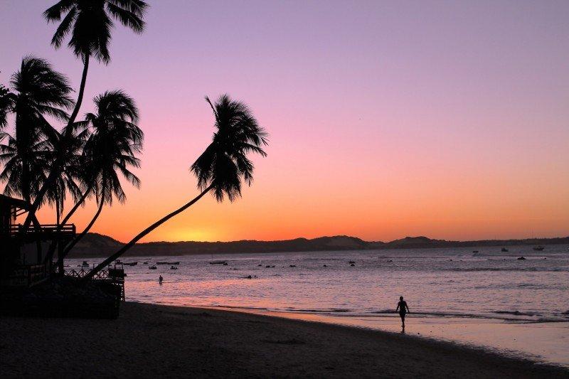 Praia de Pipa o que fazer Tibau do Sul praias RN dicas viagem nordeste praias férias passeios dicas por do sol