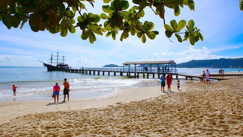 Florianópolis o que fazer dicas praias pontos turísticos ilhas Santa Catarina férias viagem hotel pousadas hotéis turismo passeios Praia de Canasvieirasc