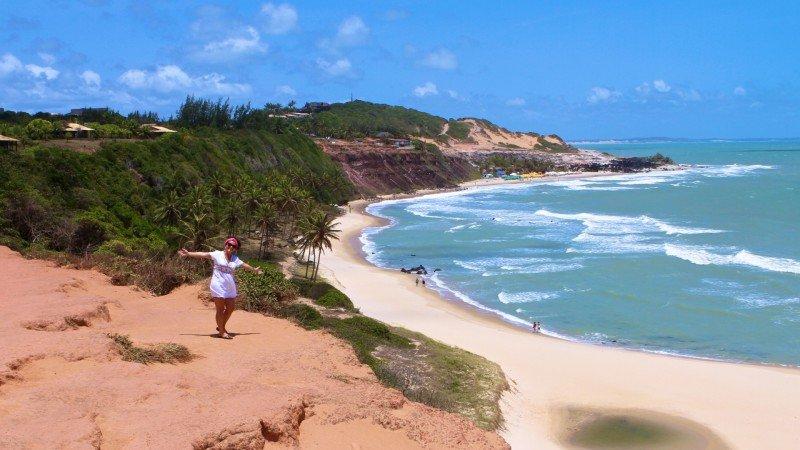 de Pipa o que fazer Tibau do Sul praias RN dicas viagem nordeste praias férias passeios dicas Praia do Amor