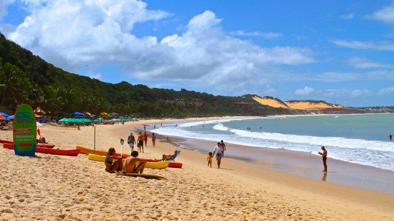 Praia de Pipa o que fazer Tibau do Sul praias RN dicas viagem nordeste praias férias passeios dicas Praia do Madeiro