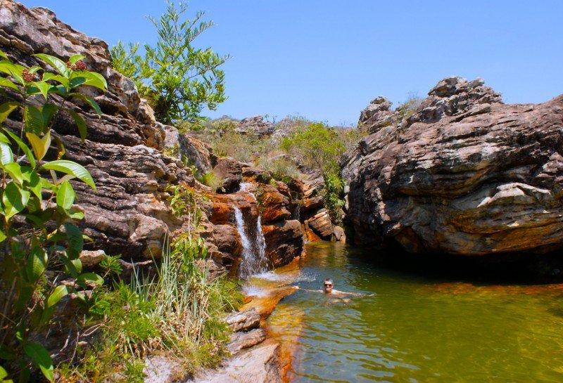 Diamantina Biribiri cachoeiras MG