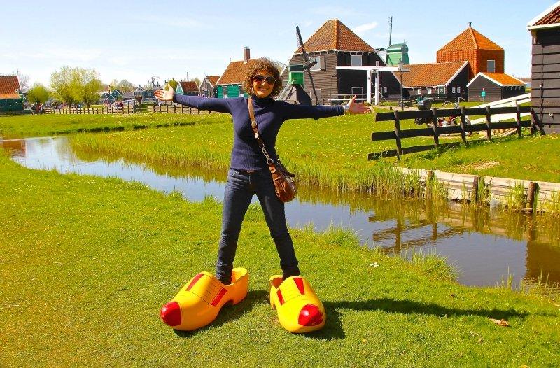 Zaanse Schans moinhos perto de Amsterdã Holanda viagem dicas passeios férias hotel