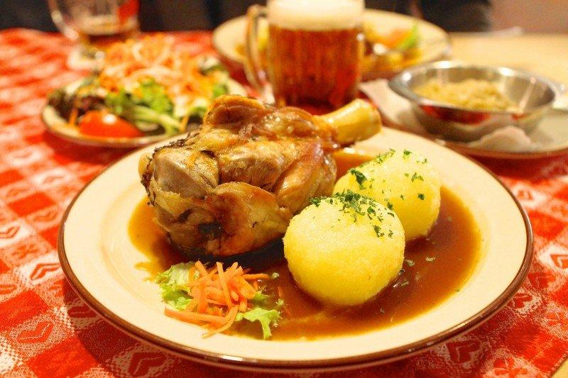 culinária típica alemã