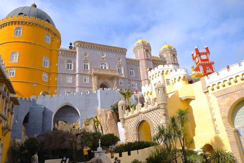 Palácio da Pena - Sintra: O que fazer pontos turísticos dicas passeios Portugal palácios