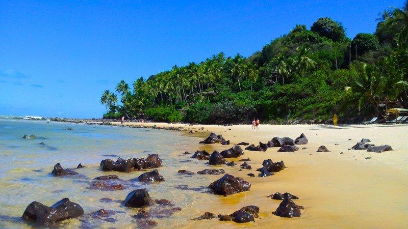 Praia de Pipa o que fazer Tibau do Sul praias RN dicas viagem nordeste praias férias passeios dicas praia do Giz