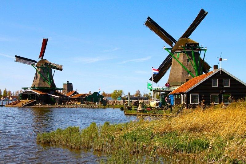Holanda o que fazer dicas Zaanse Schans moinhos perto de Amsterdã viagem dicas passeios férias hotel