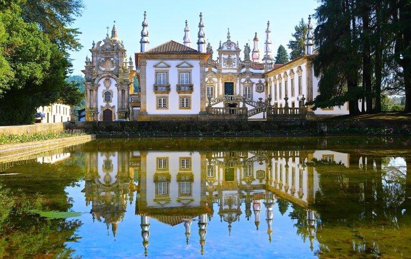 Palacio de Mateus Vila Real Portugal Turismo Passeios dicas