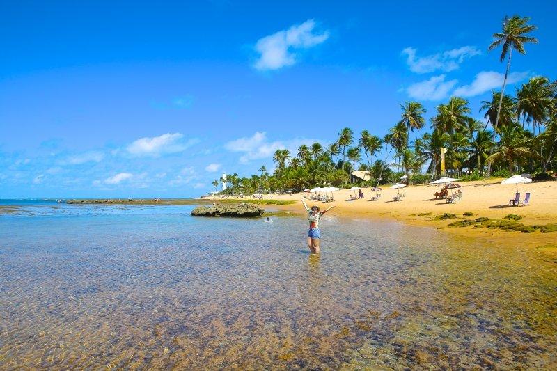 pousada casa de praia - praia do forte, Bahia