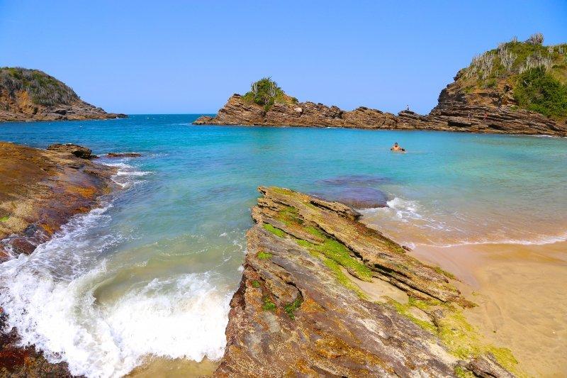 praias mais bonitas de Búzios -RJ região dos Lagos, melhores praias dicas de viagem passeios o que fazer