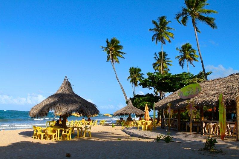 melhores praias de Porto de Galinhas Pernambuco