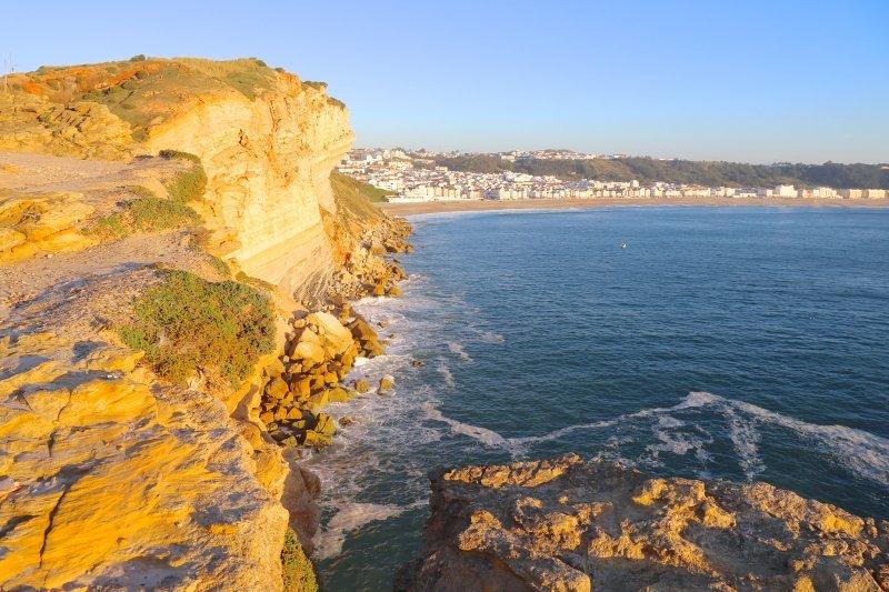 o que fazer em Nazaré Como ir de Lisboa para Nazaré praia de Nazaré Portugal como ir de Lisboa a Nazaré