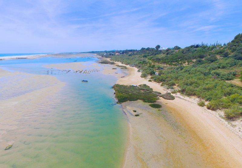 Praia de Cacela Velha, alojamentos Praia da Fabrica, Vila Real de Santo Antonio, Algarve, Turismo, Praia da Fabrica eleita uma das melhores do mundo
