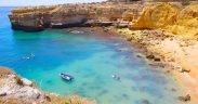 Melhores praias de Albufeira - O que fazer em Albufeira - Portugal - Praias selvagens no Algarve, Praias paradisíacas Algarve - Praias escondidas