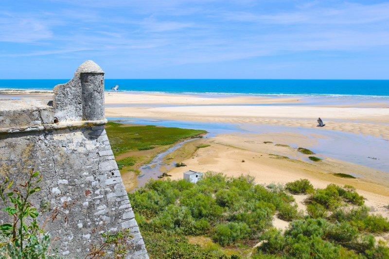 Praia de Cacela Velha, alojamentos Praia da Fabrica, Vila Real de Santo Antonio, Algarve, Turismo