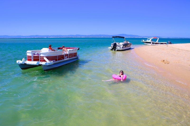 passeio de barco pelas ilhas de faro preço