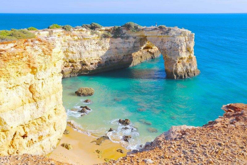 Melhores praias da costa algarvia - Praias mais bonitas do Algarve - Praias Paradisíacas no Algarve - Praias escondidas no Algarve, Melhores praias do Algarve - Praias do Sotavento Algarvio - Praias do Barlavento Algarvio - Paraísos no Algarve