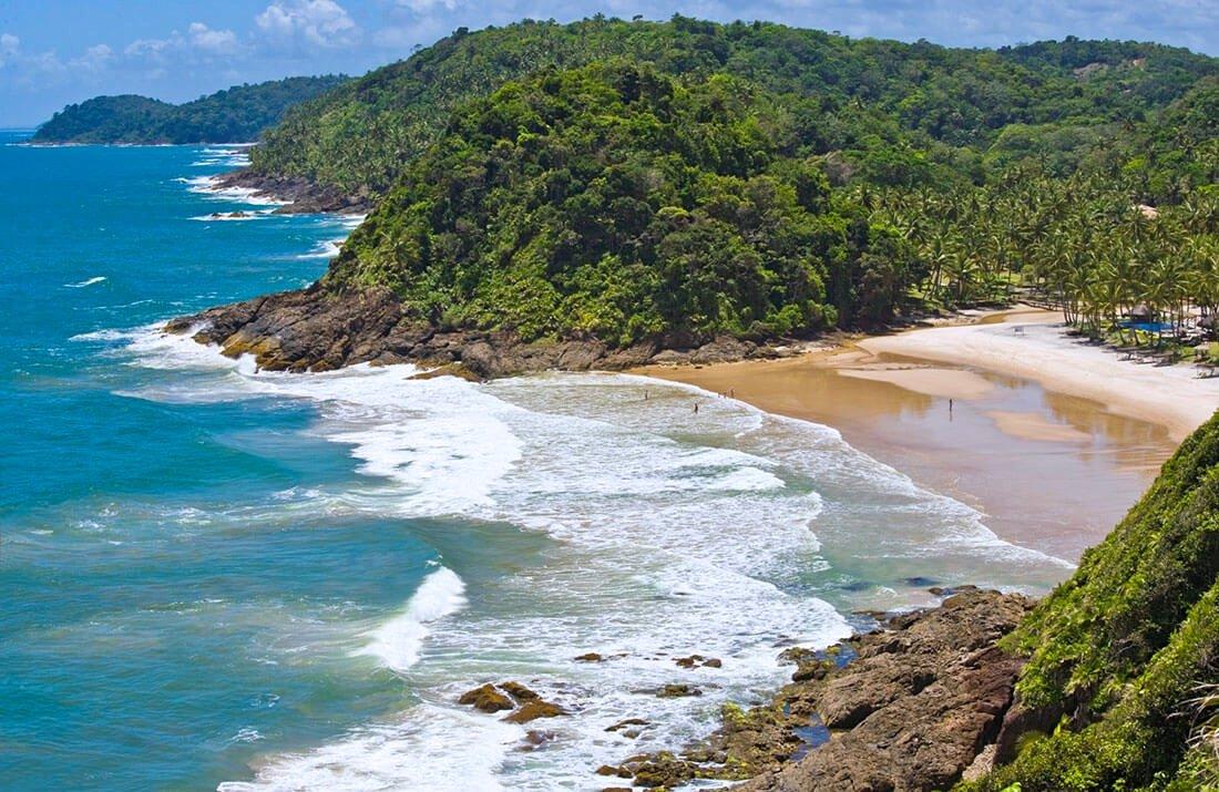 melhores praias de Itacaré - praias mais bonitas de Itacaré - Bahia