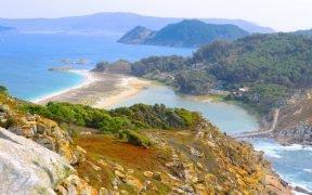 Passeio de barco pelas ilhas Cíes - Como chegar - Preços - Horários - ilhas Cíes, como ir - O que fazer nas ilhas Cíes, melhores praias das ilhas Cíes