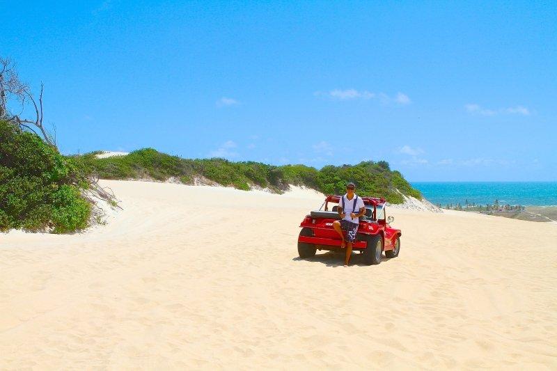 Quanto custa o passeio de buggy em Natal - Confira os preços! Dicas sobre o passeio de buggy pelas Dunas de Genipabu em Natal - Rio Grande do Norte
