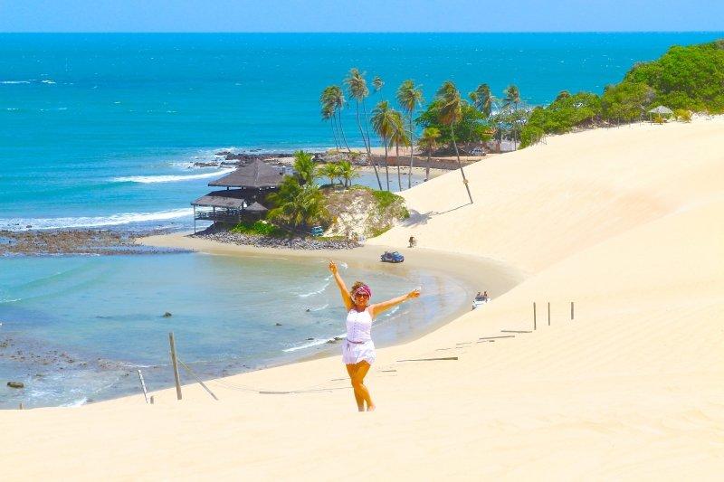 pontos turísticos no Nordeste Brasileiro