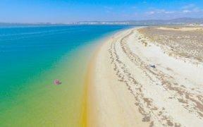 Praias com as águas mais quentes no Algarve - Praias com as temperaturas das águas do mar mais quentes no Algarve - Águas marítimas mais quentes no Algarve - Sotavento algarvio tem as águas mais quentes do Algarve - Onde se encontram as praias com as águas mais quentes do Algarve