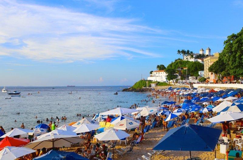 O que fazer na Praia do Porto da Barra - Pontos Turísticos na Praia do Porto da Barra - melhores praias em Salvador - Praia do Farol da Barra - Bahia
