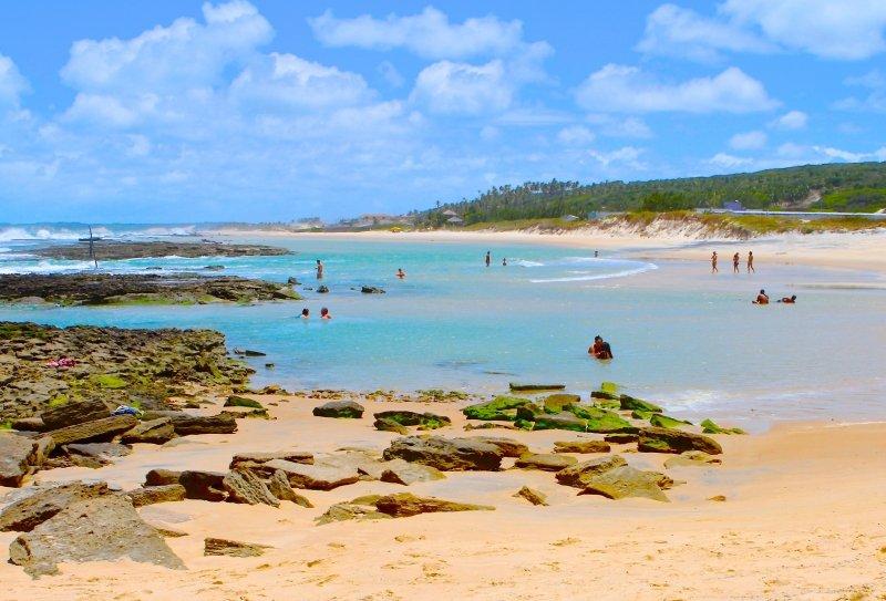 melhores praias próximas a Natal