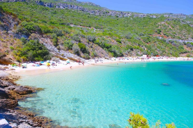 melhores praias próximas a Lisboa