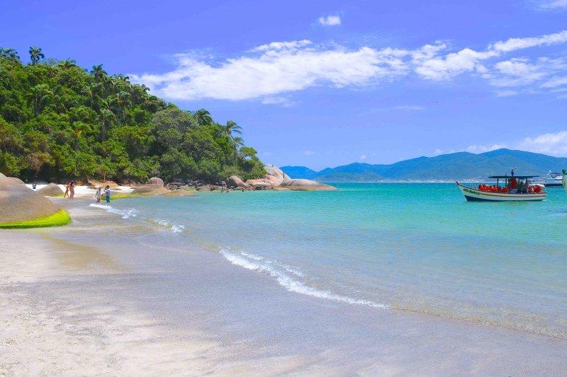 melhores praias para se hospedar em Florianópolis