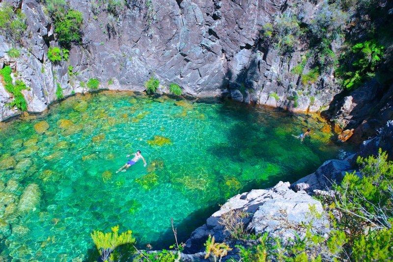 Cascatas e Lagoas do Rio Homem