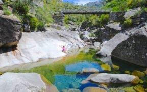 Locais para visitar em Fafião, pontos de interesse, trilhos e percursos pedestres, piscinas naturais em Fafião, lagoas e Poços na Aldeia de Fafião. Pontos turísticos e turismo rural