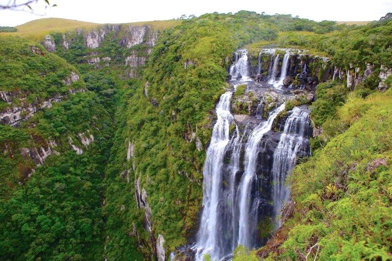 Cachoeiras em Cambará do Sul